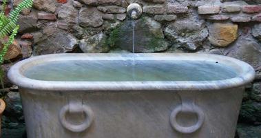 malaga alcazaba cidade castelo banho fonte 4k