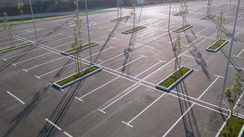Antenna 4K: monitoraggio del parcheggio vuoto
