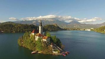 hermoso lago bled video