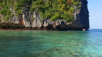 Thailandia sole luce giorno tempo famoso koh phi phi island panorama 4K