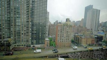 Vídeo 4k filmado em Nova York durante o verão video
