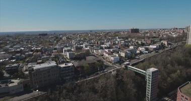 Jersey City Antennen von Gebäuden