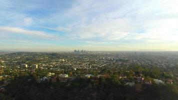 vista aérea de los angeles