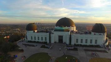vista dell'osservatorio griffith video