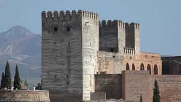 torres de castelo medieval europeu video