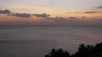 Tailândia phuket ilha patong praia pôr do sol panorama 4k