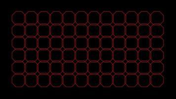 nahtloses Muster Achteck Kaleidoskop Muster Schleife Grafiken Hintergrundmuster