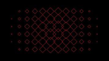 modello senza cuciture gradiente caleidoscopio ornamento loop grafica sfondo pattern video