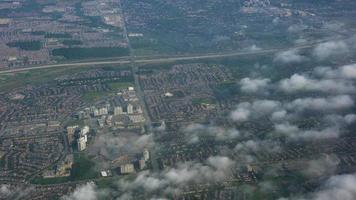 vista aérea da paisagem urbana, costa rica video