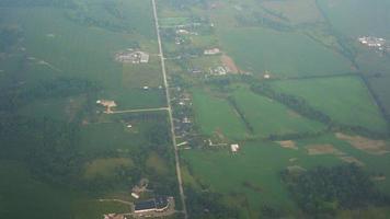 Luftaufnahme der Landschaft video