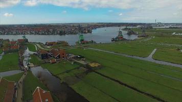 Molinos de viento de Holanda