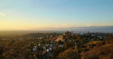 View from Hollywood hills on San Fernando valley video