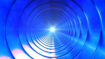 Sendung endlosen High-Tech-Tunnel 06 video