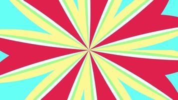 strepen animatie naadloze loops patroon met pastel kleurstijl