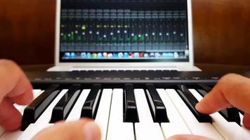 série de studio d'enregistrement à domicile 4k video