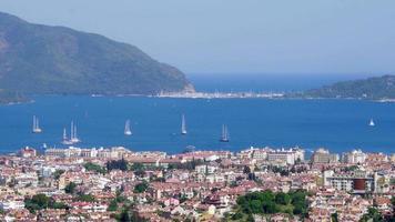 Marmaris, Turchia, destinazione di viaggio estivo della vita quotidiana video