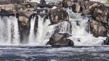 queda d'água do rio potomac no parque Great Falls