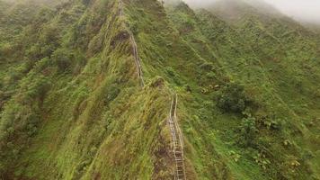 escalera aérea oahu trail haiku