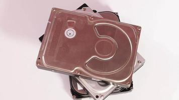 Metal hard drives