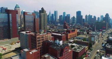 Luftaufnahme von Midtown Westside