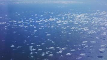szenische Ansicht von Altocumuluswolken video