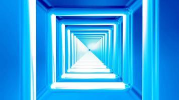 Sendung endlosen High-Tech-Tunnel 01
