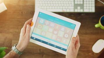 automação residencial, casa inteligente no celular video