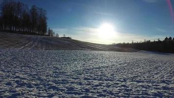 campo nevoso