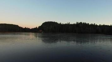 Lago congelado video