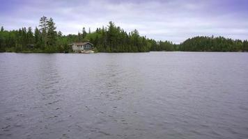 Lago Ontario en verano Canadá