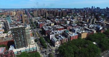 sobrevôo em direção ao Upper West Side de Central Park West video