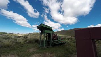 machine de criblage or time lapse et cloudscape 4k