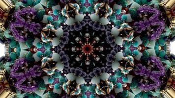 Jewelry kaleidoscope pattern