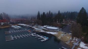 punta de flecha del lago