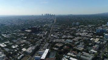 vista aérea de hollywood