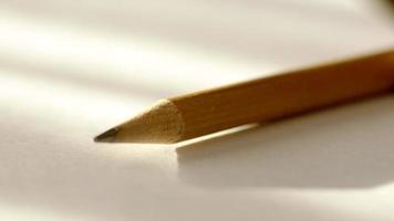 close de lápis afiado video