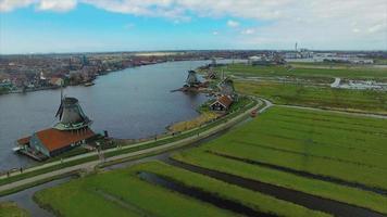 Molino de viento de los Países Bajos