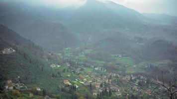 toskanische Hügel in Italien