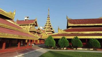 Mandalay Royal Palace, Myanmar video