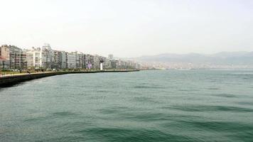 vista general de la ciudad, daliy life, izmir, turquía