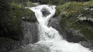 pequeña cascada en río o arroyo