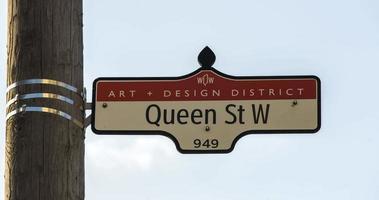 Queen Street West Sign