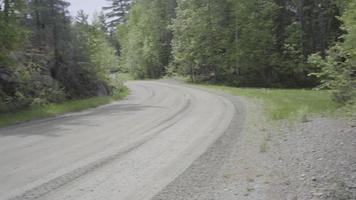 Ontario Canadá desierto bosque naturaleza lago verano carretera