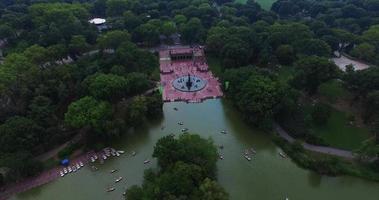 ripresa aerea di central park di New York video