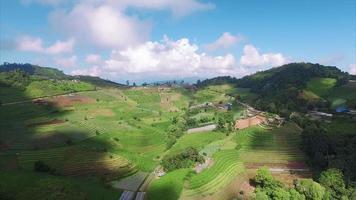 thailand chiang mai stationaire mening van heuvelachtig landschap