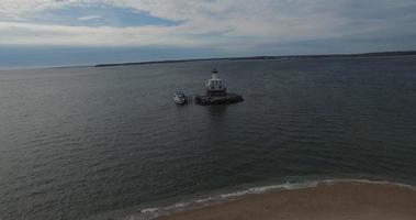 Farol de Long Beach acelerou fotos panorâmicas da costa video