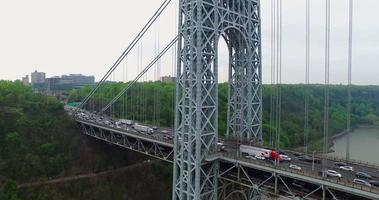 NYC Luftaufnahme George Washington Bridge