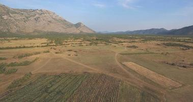Aerial Shot at South of Bosnia and Herzegovina video