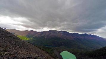 Mountain Range Time Lapse 4K UHD video