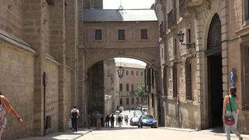 ciudad de europa con arquitectura medieval